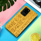 Leather Flip Wallet Card Holder Case For Samsung Galaxy NOTE 10 S20 S10 S9 S8 S7