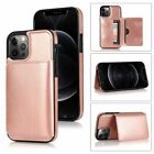 For Iphone 12 Pro Max 11 Xr 8/7/6s Leather Wallet Card Slot Back Case Flip Cover