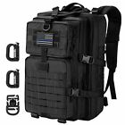 Hannibal Tactical MOLLE Assault Pack, Tactical Military Army Camping Backpack