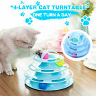 Pet Interactive Toys Cat Turntable Pet Intellectual Track Tower Funny
