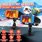 260W Car Auto Portable Electric Heater Heating Cooling Fan Defroster Demister