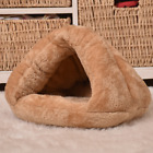 Pet Dog Cat Nest Bed Puppy Soft Warm Cave House Winter Sleeping Bag Mat Pad