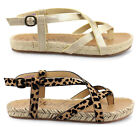 Blowfish Sandals Granola Rope Vegan Friendly Womens Open Toe Ladies Shoes UK3-8