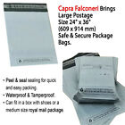 Grey Mailing Bags Strong Poly Postal Postage Post Water Proof Mail Bag 24