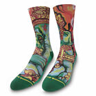 Men's Merge4 x Taylor Reinhold Socks Green Clothing Apparel Footwear