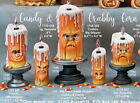 Pick 1 Halloween Candle Dripper Ready To Paint  Unpainted Ceramic Bisque