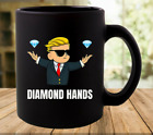 Wall Street Bets Diamond Hands Coffee Mug