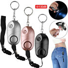 130DB Safe Sound Personal Alarm Self-Defense Keychain Siren With LED Light