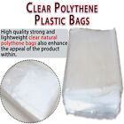 Clear Polythene FREEZER STORAGE Plastic Bags All Sizes Crafts Food Small Large