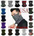 Face Mask Covering Reusable Washable Breathable Bandana Gaiter Cover w Loops Ear