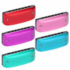 Harmonica Portable 7-Hole Mini Blues Color Mouth Organ for Student Beginner