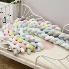 Bumper Knotted Braided Plush Nursery Decor