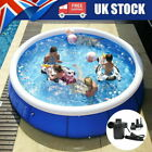 Round Family Swimming Pool Garden Outdoor Summer Inflatable Kids Paddling Pools