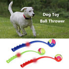 Pet tossing cue and dog training toy Ball tossing device Outdoor training toy