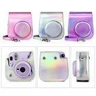PU Leather Symphony Instant Camera Colorful PU Leather with Removable Shoulder