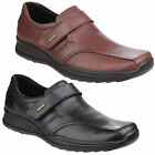 Cotswold Birdlip Waterproof Mens Formal Leather Touch Fastening Shoes UK6-12