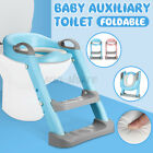 Upgrade Toddler Toilet Chair Kids Potty Training Seat with Step Stool Ladder