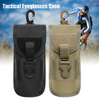 Sunglasses Hard Case Tactical Eyeglasses Sturdy Carrying Case with Belt Clip New