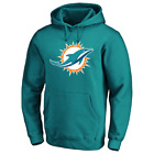 Miami Dolphins Men's Hoodie NFL Fanatics Logo Graphic Hoodie - Teal Blue...