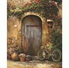Paint by Numbers Kit - DIY Painting Kit - Gift Idea - Picturesque Door 2, 3 Size