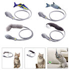 Flopping Moving Fish Cat Toys Catnip Pet Soft Plush Interactive Playing Toy