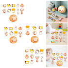 Infant Teether Rattles Grab Teething Baby Shower Bath Toys with Storage Box
