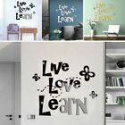 Mirror  Removable Wall Sticker Art Acrylic Mural Decal Wall Home Decor