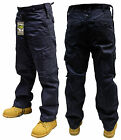 NAVY BLUE ARMY SECURITY COMBAT TROUSERS PANTS 30 32 34 36 38 40 42 44 46 48 50
