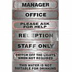Business and Office Signs