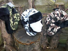 MENS CAMOUFLAGE RUSSIAN TRAPPER COSSACK HAT 3 COLOURS