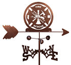 SWEN Products FIRE RESCUE FIGHTER Steel Weathervane