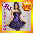 1721 Moulin Burlesque Corset Tutu Costume 8 10 12 14 16