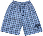 Mens Surf Skate Check Swim Board Sports White Blue Brown Long Swimming Shorts