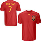 adidas SPAIN WC 2010 David VILLA Hero SOCCER Shirt RED