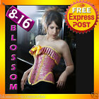 5113 Burlesque Moulin Rouge Belle Corset + Tutu Costume
