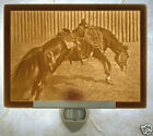 Lithophane Night Light - School Days  - Bronco - Horse