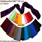 One silk scarf unicolor, at choice 20 colours slikshawl