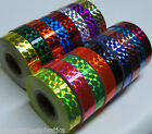 """Prism Tape, Choose your Colors and Sizes. Holographic 1/4"""" Mosaic Hoop Tapes"""