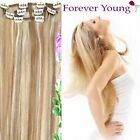 "16"" 18"" 20"" Mix Blonde Clip in HUMAN HAIR EXTENSION"