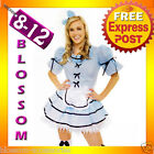 8388 Alice In Wonderland Fairy Tales Costume + Stocking