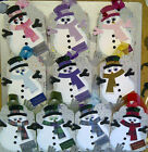 Beautiful Christmas Snowman  Handmade  Gift Tag