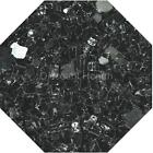 "Black Reflective 1/4"" Fireglass Fire Glass Fire Pit Fireplace Glass Crystals"
