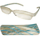 Pocket Ready Reading Glasses Ready Readers Spectacles & Case R7601 Six Colours