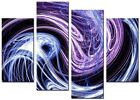 ABSTRACT ART CANVAS WALL ART QUALITY PRINTS CONTEMPORARY DIGITAL ART YIN