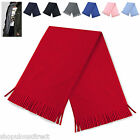 Fleece Scarf Fringed Tassel Warm Winter Mens Ladies Unisex Smart Dolomite