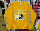 Pittsburgh STEELERS- Gold Sweatshirt - Sizes: S, M, L, XL, 2XL, 3XL