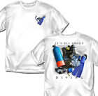 It's All About Diving T-shirt (white) - Adult Sizes