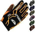 WULFSPORT FORCE TEN 10 MX OFF ROAD MTB MOUNTAINBIKE WULF MOTOCROSS GLOVES