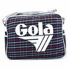 Gola Redford Plaid Classic Shoulder Bag CUB151 EWO