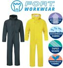 Fortress Stretchable Windproof WATERPROOF BREATHABLE HOODED COVERALLS Overalls